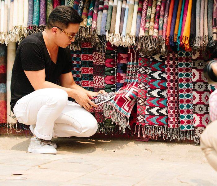 Inspirationsquelle für Prabal Gurung: seine nepalesische Heimat