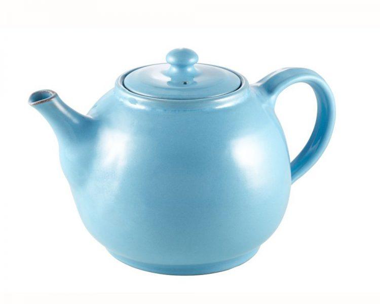 Teekanne von der Non-Profit-Organisation Sana Hastakala, um 19,95 €. Erhältlich über Plan Shop