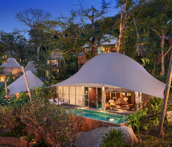 Tent Pool Villa (c) Green Pearls Unique Places
