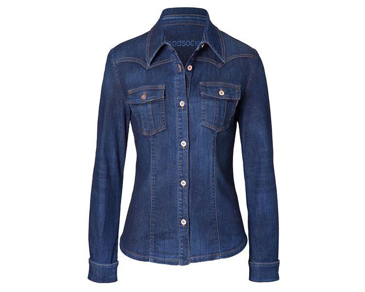 Womens Shirt Jacket - Cloud, um 255 Euro