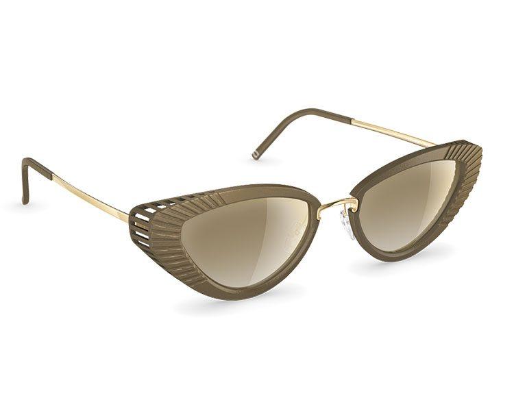 """Zero waste Sonnenbrille """"Virginia"""" aus dem 3D Drucker von Neubau Eyewear, um 249 Euro."""